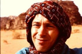 In Wadi Rum in Jordanië