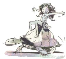 De stem van de schildpad - illustratie 1