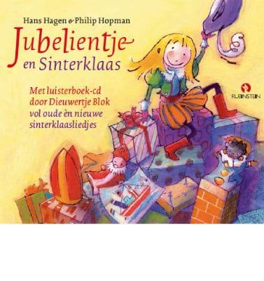 Jubelientje en Sinterklaas - boek-cd R.