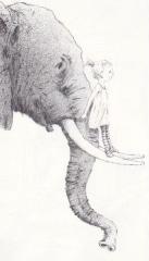 Misschien een olifant - illustratie