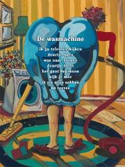 Plint poster De wasmachine