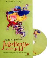 Jubelientje wordt wild - luisterboek cd